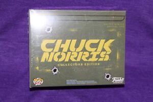 Chuck Norris Collectors Edition Funko Pop Vinyl Figure L Tee Brand New in Box