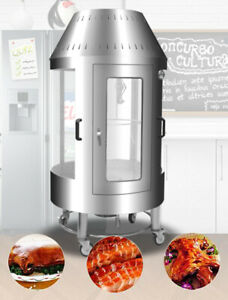 ROTISSERIE-CHICKEN-BEEF-RIBS-PORK-COOKS-16-CHICKENS-CHARCOAL-ELECTRIC