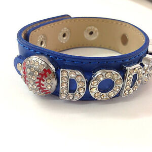 Image Is Loading Los Angeles Dodgers Bracelet Or Personized Your Own