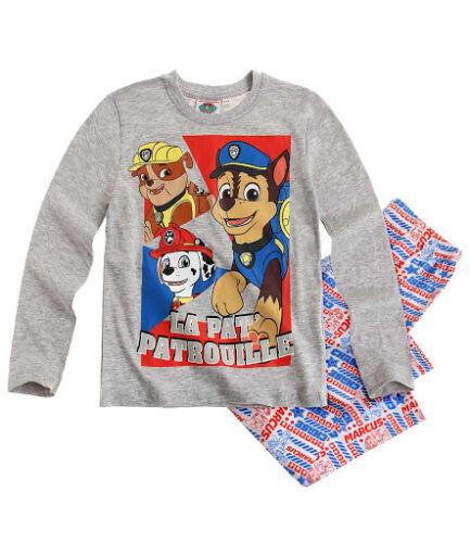 Boys PAW PATROL Long Sleeve Pyjamas Set Age 2,4,5,6,8 NEW DESIGN