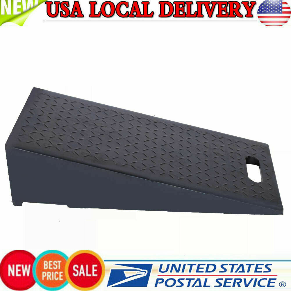 wheelchairs garages Heavy Vehicles Curb The ramp Movable Threshold ramp for Loading Docks Portable Access ramp with Non-Slip Texture Outdoor product Rubber Curb Threshold ramp