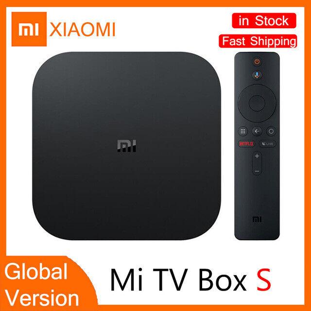 Xiaomi Mi Box S 4K Smart Android TV Streaming Media Google Assistant Global Ver
