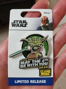 LIMITED-EDITION-Disney-Star-Wars-May-The-4th-Be-With-You-Yoda-Pin