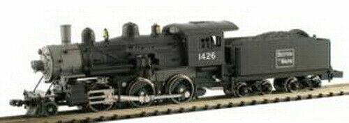Model Power  N Scale  Boston & Maine 2-6-0 Locomotora de vapor  DC  nuevo  87601