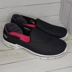 Womens Shoe Sketchers GOwalk 3 Size 9 Gray MSRP $65 13980