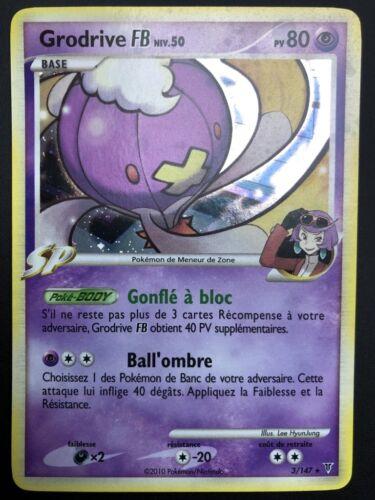 Carte Pokemon GRODRIVE 3//147 Holo PLATINE VAINQUEURS SUPREMES FR NEUF