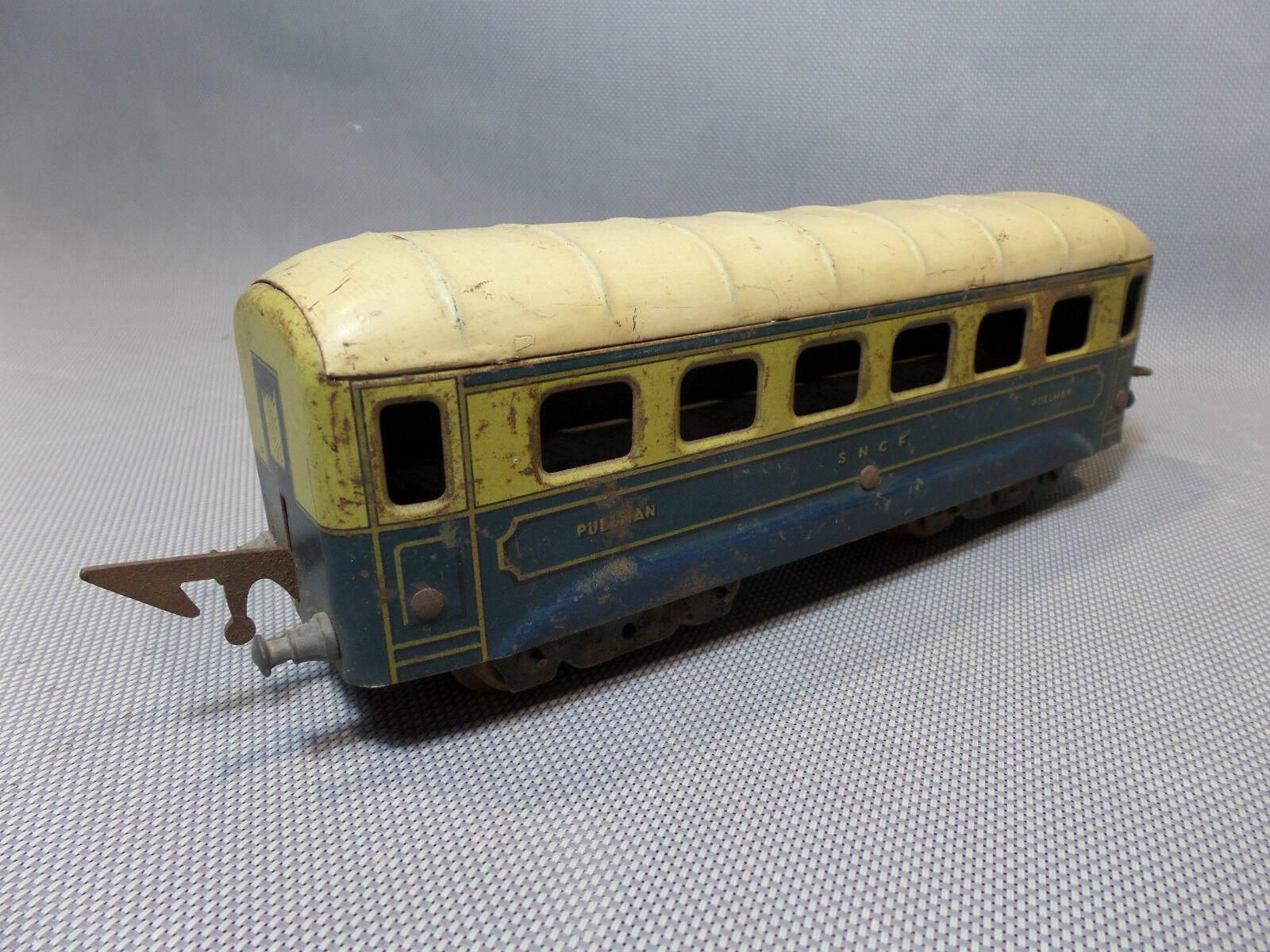 Wagon Pullman, Ehd SNCF , Hojalata, Completo, Escala 0