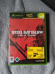 Steel-Battalion-Line-of-Contact-Xbox-Neu-New-sealed