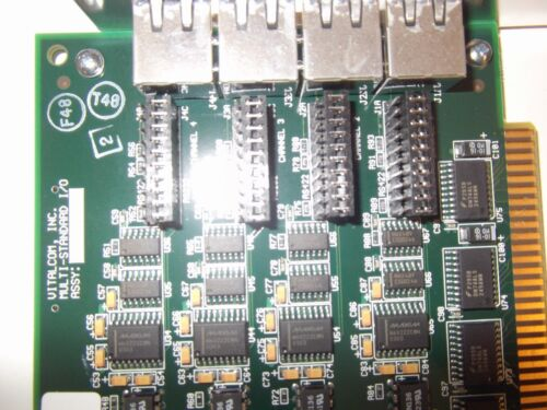 Used Vitalcom 053650 Multi-Standard I//O 4-Channel Card