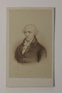 Joseph-Haydn-Compositore-Autriche-Foto-Di-Dopo-Incisione-CDV-Vintage-Albumina