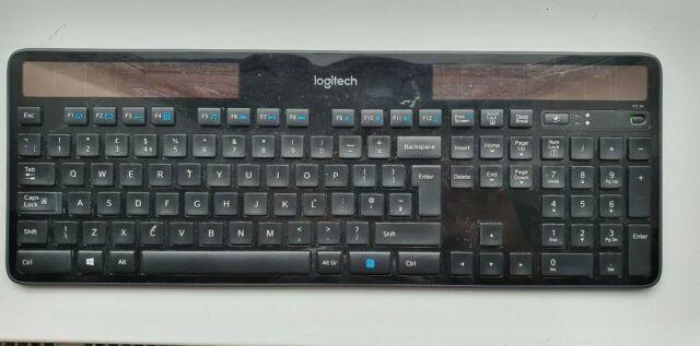 Logitech K750 solaire clavier remplacement clé seulement mise en page UK