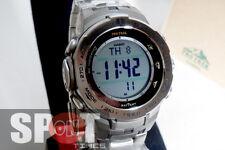 Casio ProTrek Atomic Solar Triple Sensor Titanium Men's Watch PRW-3100T-7