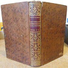 MILLOT HISTOIRE ANCIENNE T.4 HISTOIRE ROMAINE 1778 FIN DE L'EMPIRE ROMAIN
