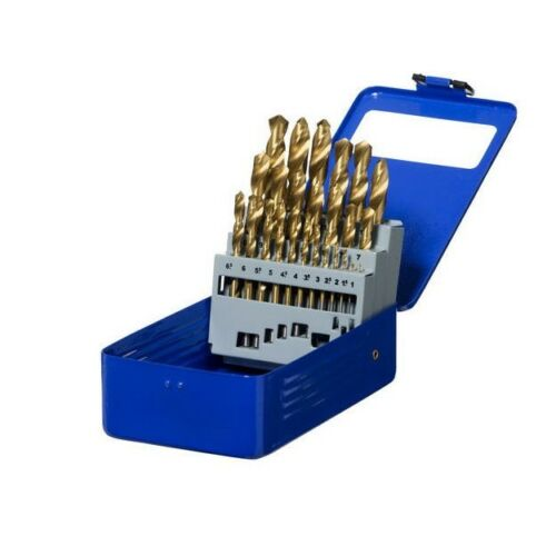 Mastercraft HSS METAL DRILL BIT SET MCDBS25TM 25Pieces Metric, Titanium Coated
