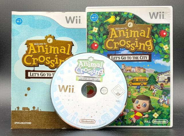 Spiel: ANIMAL CROSSING Let´s go To The City für Nintendo Wii + WiiU