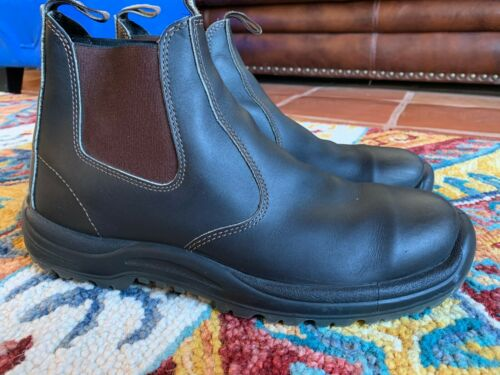 Blundstone BL490 Boots, Chelsea Brown Leather, Wor