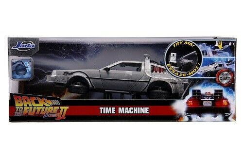 Neu Jadatoys 253255021-1:24 Time Machine Back to the Future 2