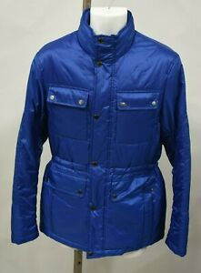 MICHEAL-KORS-Size-S-Marine-Blue-Fall-Bubble-Jacket