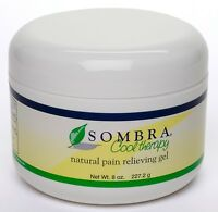 1 -8 Oz.jar Of Sombra Cool Therapy Pain Relieving Gel(8 Oz) (free Shipping)