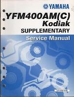 2000 Yamaha Atv Yfm400am(c) Kodiak Supplement Service Manual Lit-11616-13-39