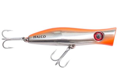 Halco Roosta Popper 105 fishing lures original range of colors