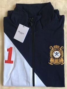 Men's jumper Aston Size Hackett White Martin London Medium Jipper Black wAOwr1Zq