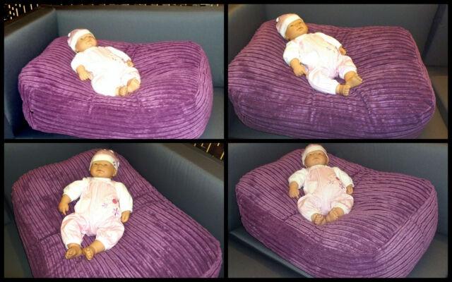 ZIPPY JUMBO CORD BEANBAG BABY POSER - PHOTOGRAPHY RELAXER BEAN BAG PILLOW POD