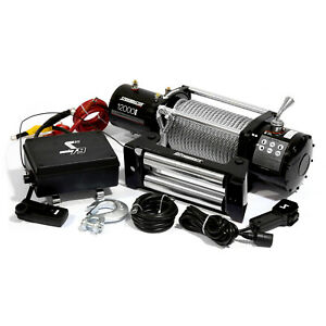 Speedmaster-12000lbs-5445kgs-12V-Electric-4wd-Winch-Kit-w-Wireless-Remote