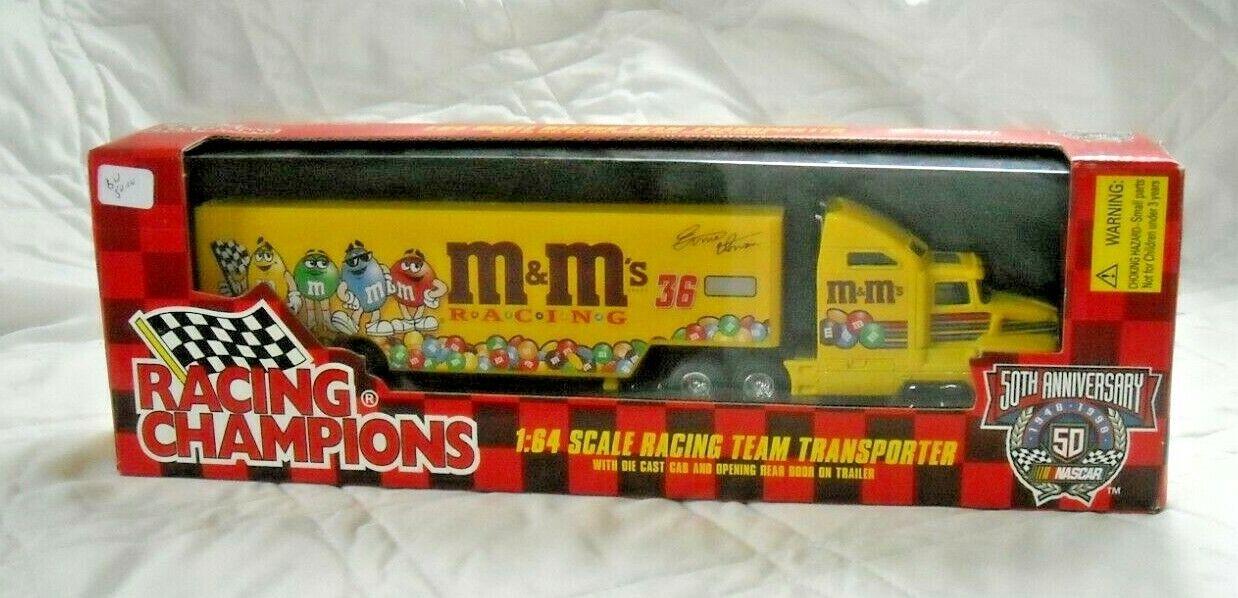 Ernie Irvan Racing Champions Diecast M & m 's Hauler camión 1 64 1998 Nascar