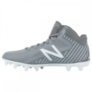 latest design super cheap pick up Details about New Balance Rush Boy's Lacrosse / Football Cleats - Gray (NEW)
