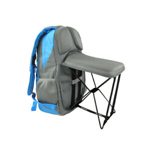 Genial Details About Outdoor Fishing Backpack Hiking Camping Trekking Travel  Shoulder Folding Chairs