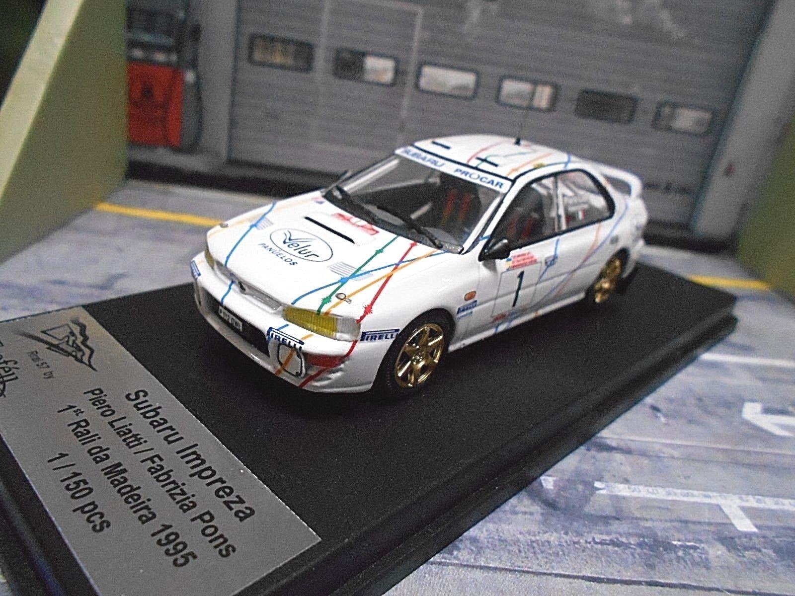 Subaru Impreza WRC Rally de Madeira 1995 winner  1 liatti Pons velur Trofeu 1 43