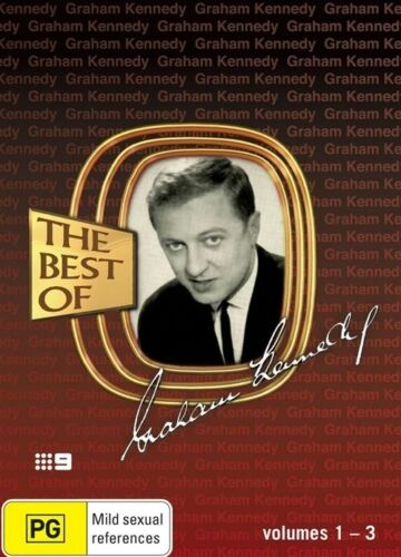 1 of 1 - THE BEST OF GRAHAM KENNEDY Volumes 1-3 (3-Disc) DVD Set FREE POST