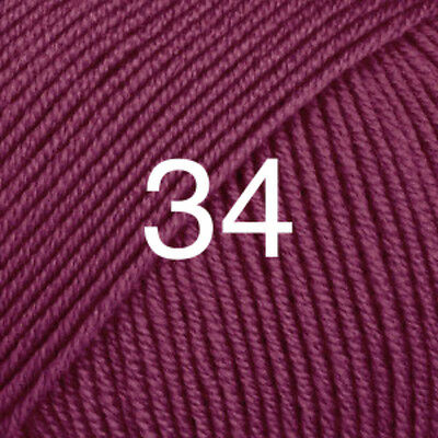 DROPS BABY MERINO YARN 100%EXTRA FINE MERINO LUXURY KNITTING WOOL 50g 4PLY