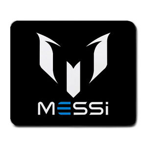 Image Is Loading New Lionel Messi Logo Mousepad Large Mouse Pad