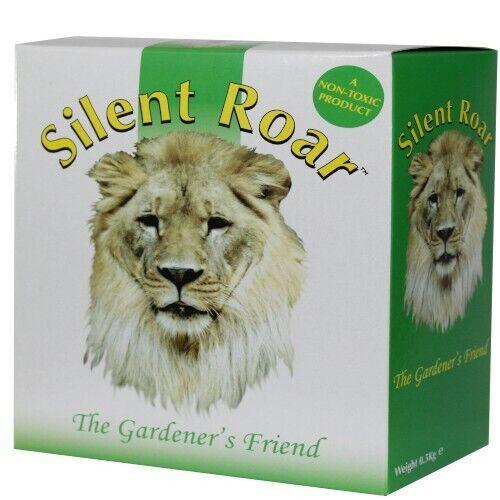 Silent Roar Lion Manure Cat Deterrent Garden Fertiliser