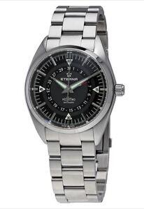 Swiss-Made-Eterna-Kontiki-Automatic-Stainless-Steel-Men-039-s-Watch-1598-41-41-0217