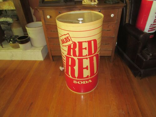 Vintage Rare Dad's Red Red Soda Iceman Cooler #1226