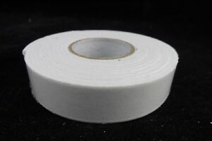 Self Adhesive Double Sided Foam Strip Tape - 18mm x 2m Roll White Foam