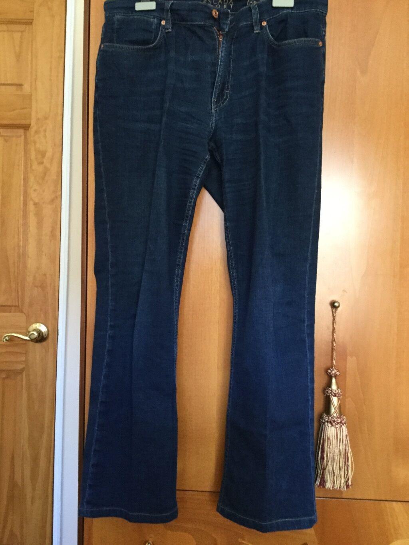 Womens bluee ESCADA SPORT denim jeans W Swarovski  crystals
