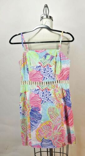 Lilly Pulitzer SZ 6 Ziggy Romper Dress Roar of the