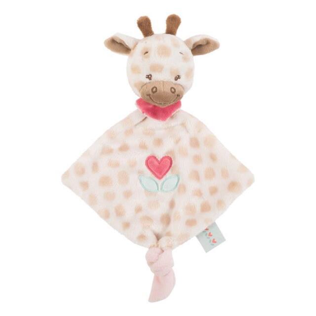 Nattou kleines Kuscheltuch Charlotte die Giraffe NEU
