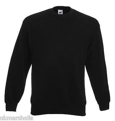 Fruit of the Loom Set in Sleeve Sweatshirt Jumper S - XXXL 11 Colours Wholesale