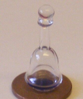 1:12 Scale Glass Decanter With A Yellow Base Tumdee Dolls House Accessory GDH