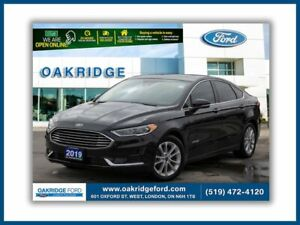 2019 Ford Fusion SEL Hybrid Leather, moonroof, navigation