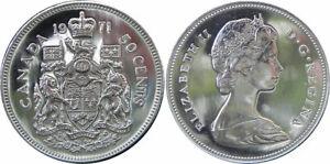 BU-1971-Canada-50-Fifty-cent-Coin-Canada-Half-Dollar-Coatof-Arms-Queen-Elizabeth