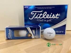 Titleist-Tour-Soft-Golfbaelle-Modell-2019-1-Dutzend-weiss-statt-UVP-42-95