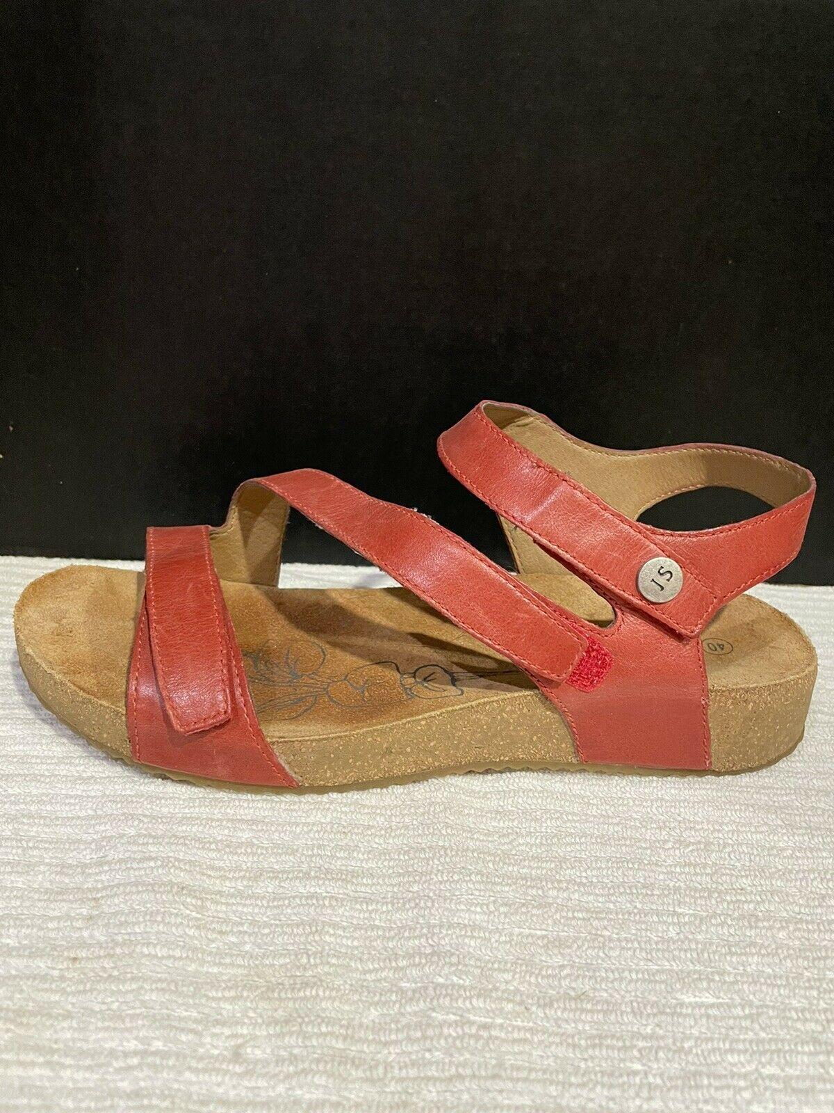Josef Seibel Tonga  Womens Strappy Sandals In Red - image 4