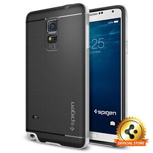 Spigen-Factory-Outlet-Samsung-Galaxy-Note-4-Case-Neo-Hybrid-Satin-Silver