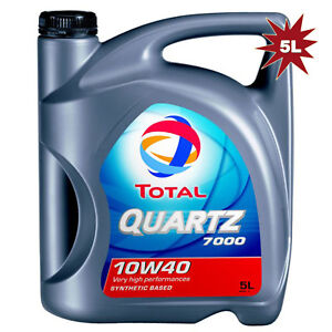 total quartz 7000 10w40 synthetic technology engine oil 5 litre ebay. Black Bedroom Furniture Sets. Home Design Ideas
